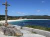 Playa de Langosteira y Cruz de Baixar