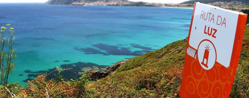 El Fin de Camino muestra su bienvenida al viajero con paisajes atlánticos que no le dejarán indiferente.